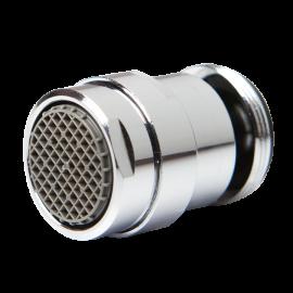 Aérateur régulateur embout rotatif pour robinet mâle